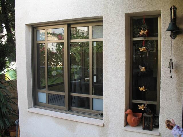 חלונות אלומיניום פרופיל קליל 7300