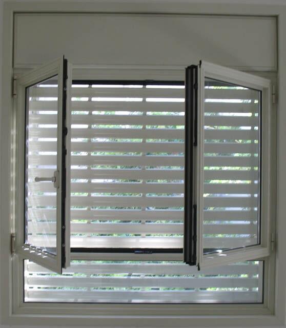 חלון פרופיל קליל 4300 עם תריסים חשמליים