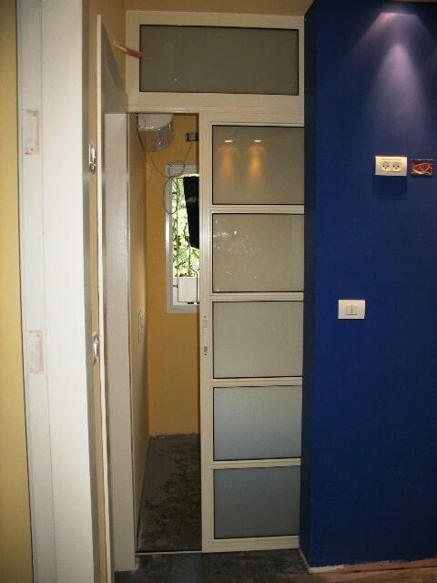 דלת 7000 הזזה מחיצה בין משרד למשרד