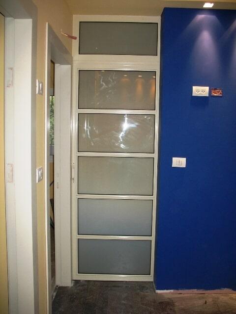דלת הזהה פרופיל 7000 הפרדה בין משרדים