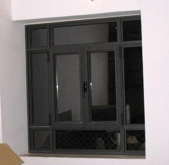 חלון 2 כנפיים קליל 4300 צבע IRON 1200