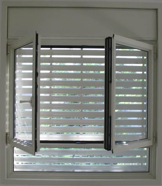 חלון פרופיל קליל בלגי 4300 עם תריס חשמלי